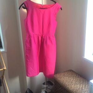 J crew pink sheath dress
